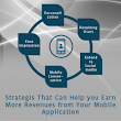 Strategies that can help you earn more Revenues from your app