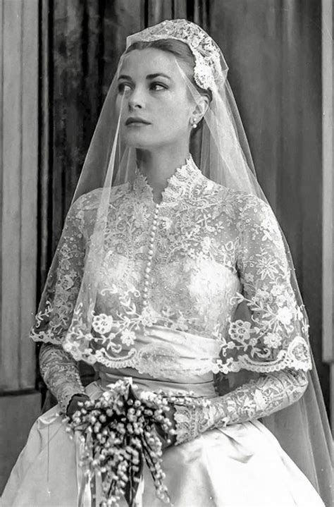 Grace Kelly Wedding Dress Because of the close friendship