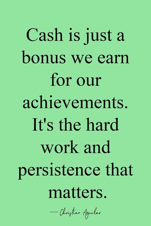 Hard Earned Money Quotes