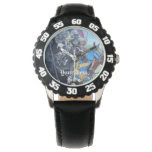 Jousting Knights on horse historic realist art Watches