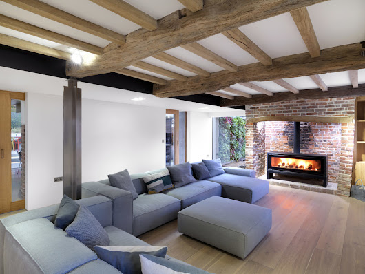 | Cottage by Guy Hollaway Architects