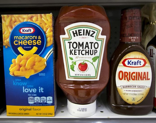 Kraft Heinz sales fall 3.8 percent