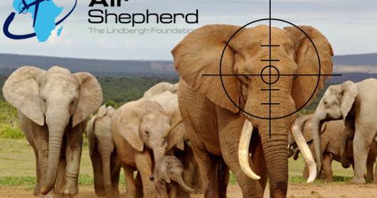 CLICK HERE to support Air Shepherd Drones Stop Elephant & Rhino Poaching
