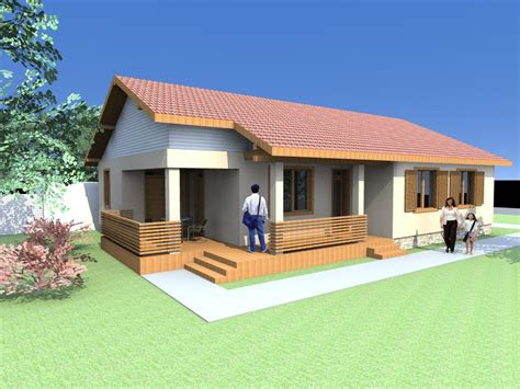 small  floor house plans  cabin houses archicad
