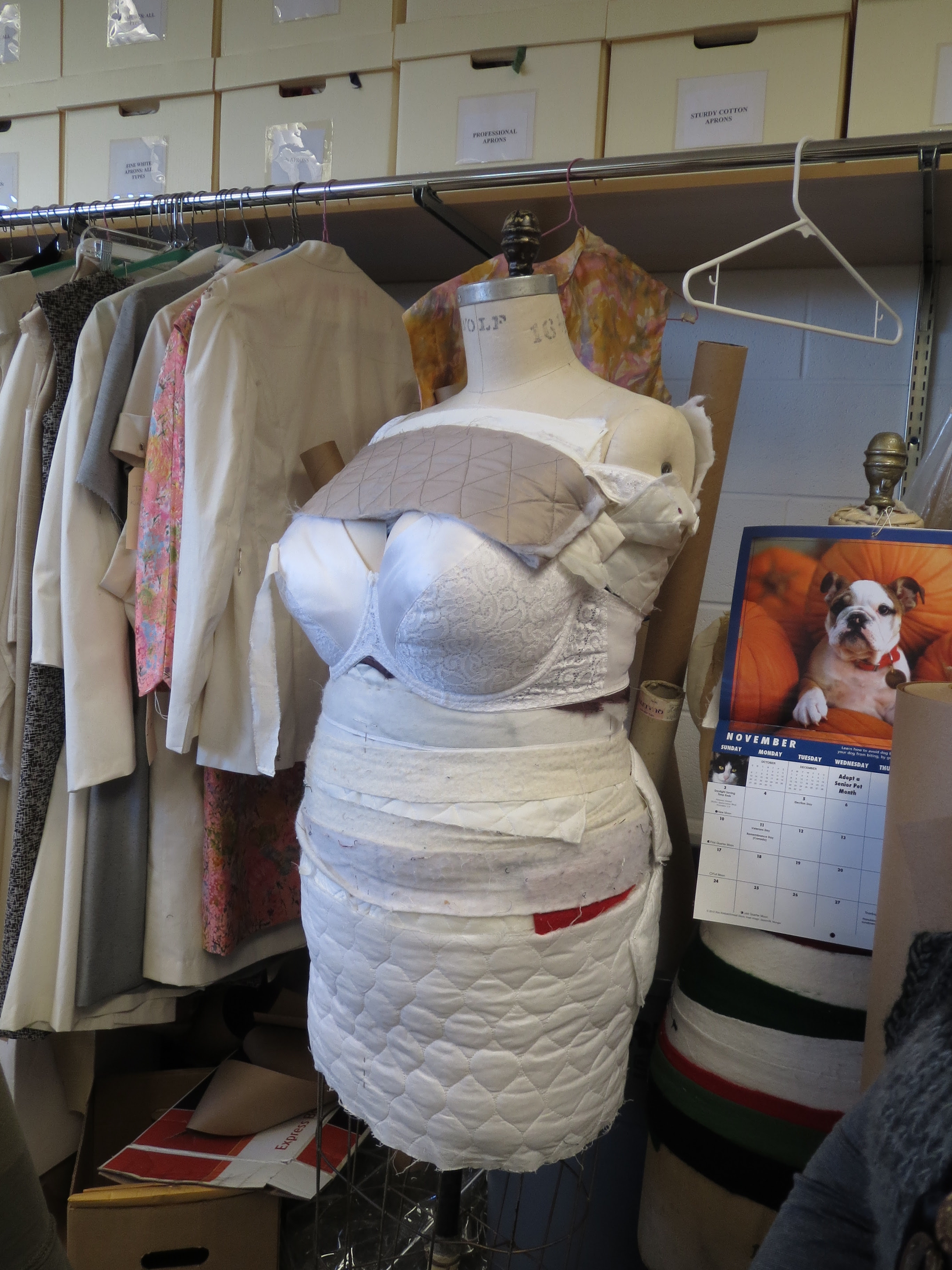 Padded Out Dress Form