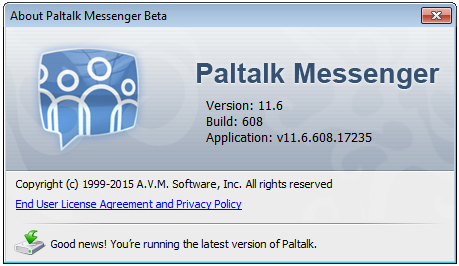 Paltalk 11.6 Build 608 - Beta