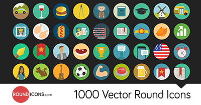 5500 Pixel Perfect Flat Icons Set Bundle