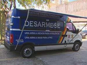 Indenização varia de R$ 150 à R$ 450, dependendo do tipo de arma. (Foto: Reprodução/TV Globo)