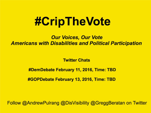 #CripTheVote: Our Voices, Our Vote
