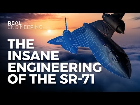 VIDEOWALL: The Insane Engineering of the SR-71 Blackbird