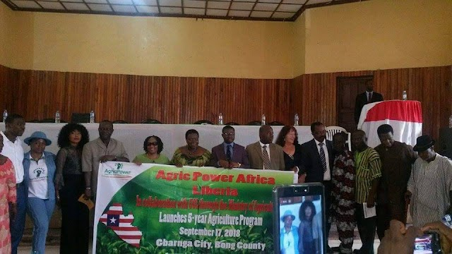 Aroms Aigbehi Launches Agric Power Africa In Liberia