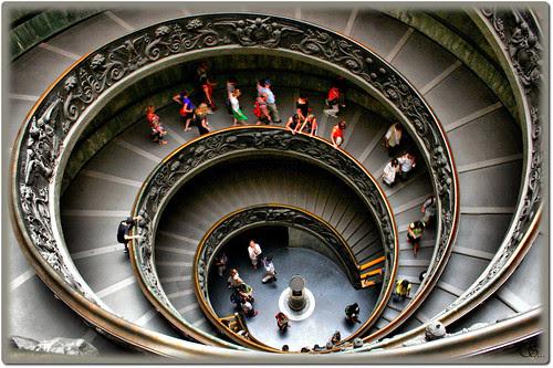 Sistine Chapel stairs, vatican