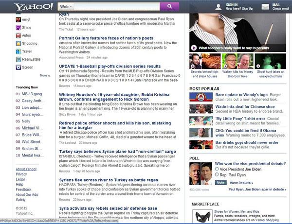 Inikah Penampilan Baru Situs Yahoo? 1
