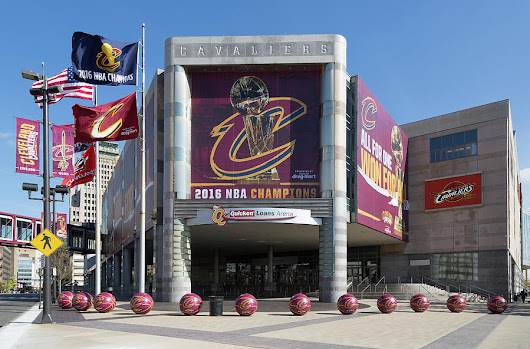 Cleveland Cavaliers The Q by Dale Kincaid