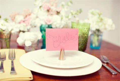 Place Card Holders Ideas for your Wedding   Arabia Weddings
