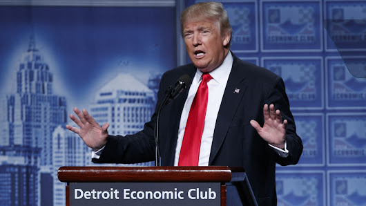 FACT CHECK: Donald Trump Unveils His Economic Plan In Major Detroit Speech