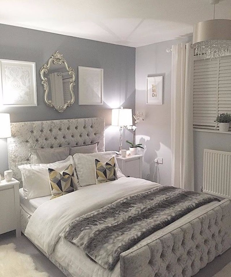 Sumptuous Bedroom Inspiration in Shades of Silver – Master ...