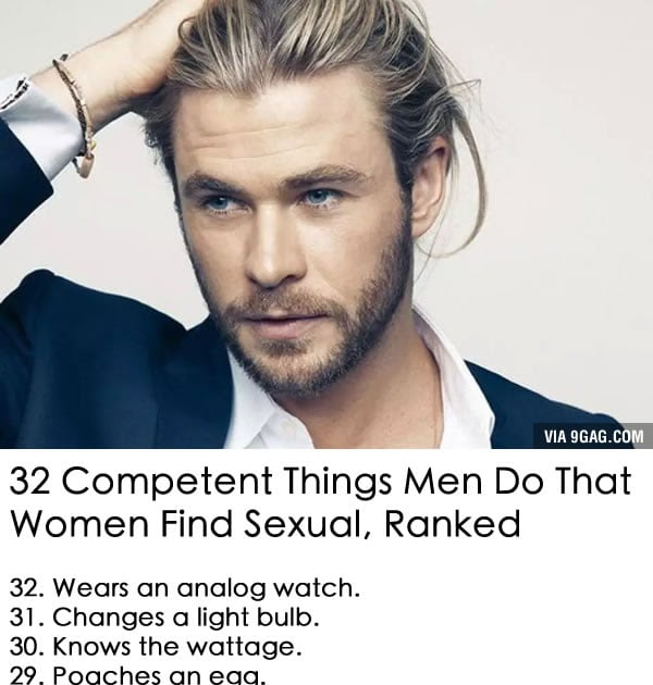 32 Competent Things Men Do That Women Find Sexual, Ranked