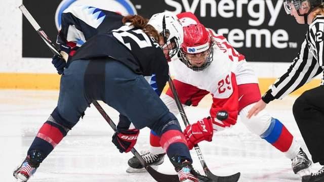 Россиянки проиграли команде США в матче чемпионата мира по хоккею