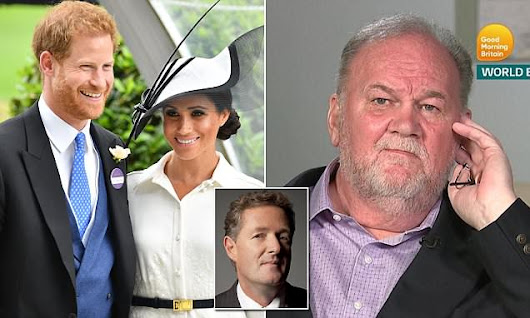 PIERS MORGAN: Meghan, show some heart to your father