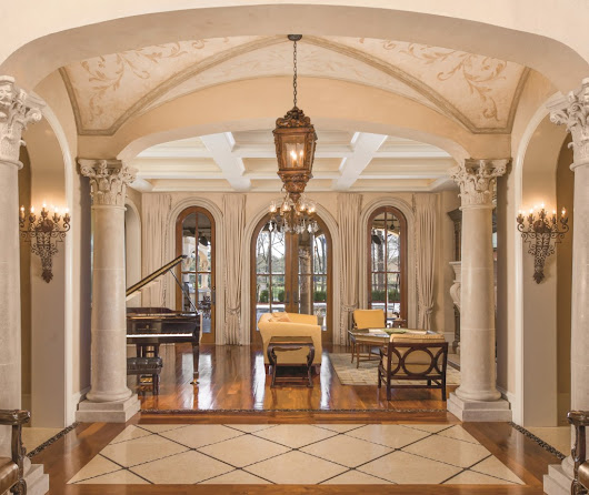 Spanish Manor with the Highest Quality in Craftsmanship and Finishes, Charlotte NC