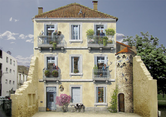 The French Banksy of Fake Facades