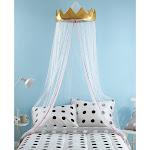 Better Homes & Gardens Kids Figural Golden Crown Canopy