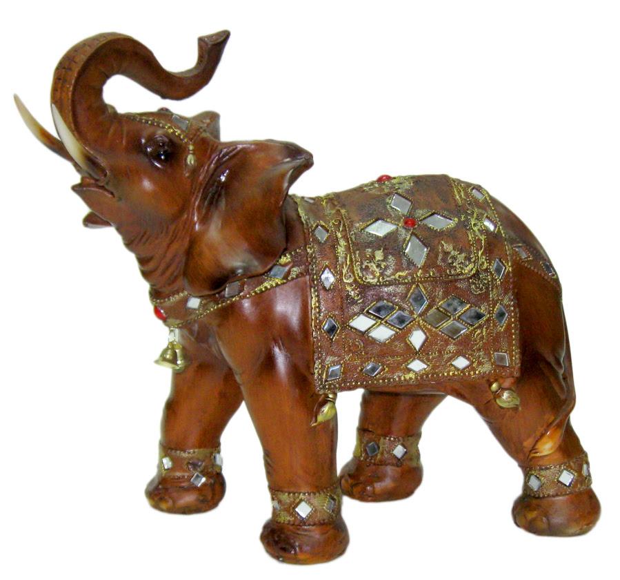 Figuras Elefante Café Hindú
