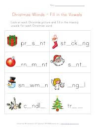 Complete the Christmas words