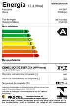 Imagem da Etiqueta Nacional de Conservação de Energia