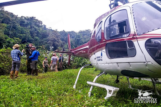 Corporate Helicopters & the Lost City of the Monkey God - Corporate Helicopters
