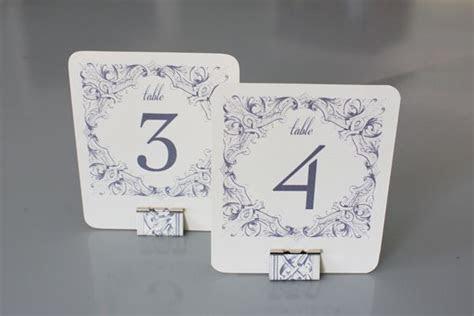DIY Table Numbers   Holders   crafty   Wedding Table