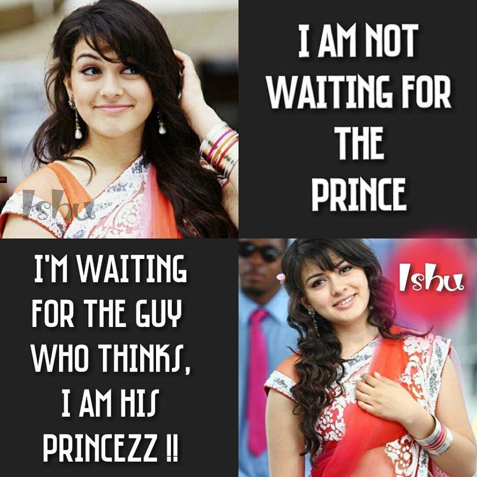 I Am Not Waiting For The Prince