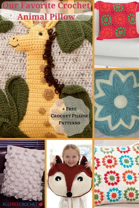 Our Favorite Crochet Animal Pillow   11 Free Crochet