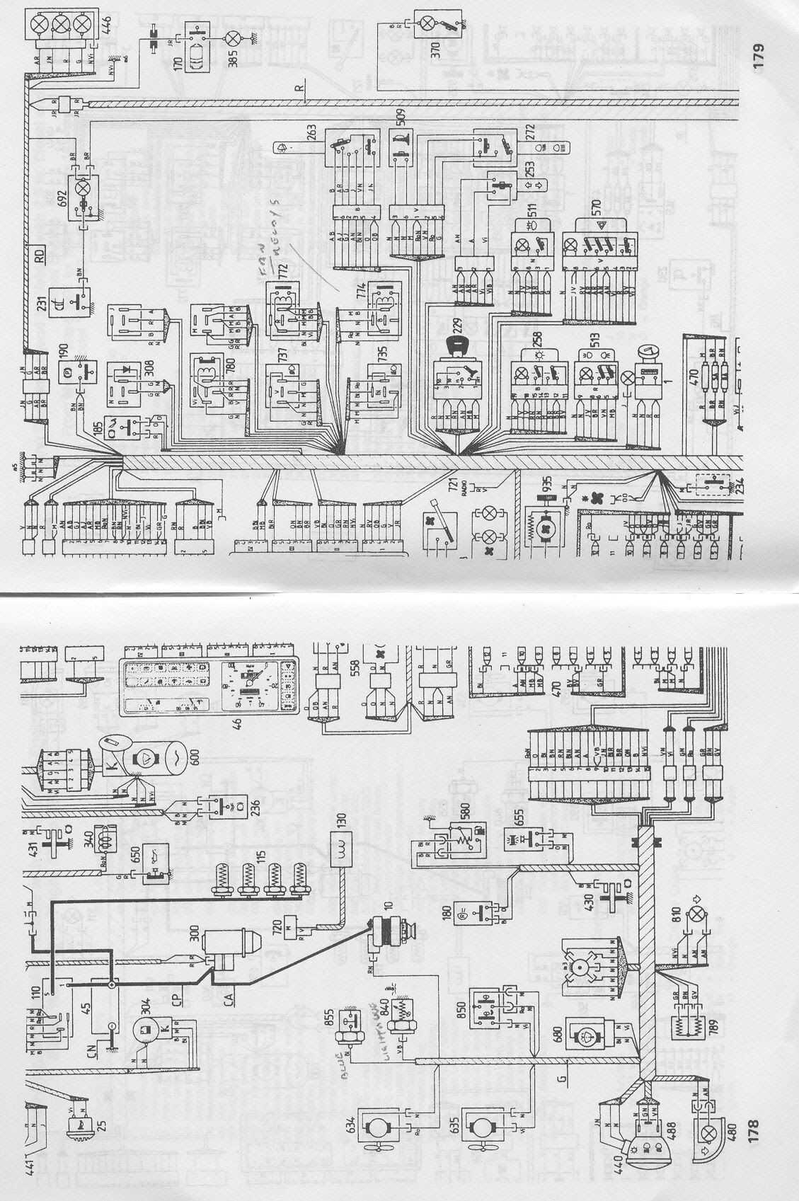 Schaltplan Autoradio Fiat Punto
