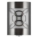 GE - CoverLite Plug-in LED Night Light - Brushed Nickel