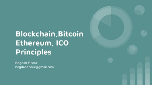 Blockchain, bitcoin, ethereum and ICOs