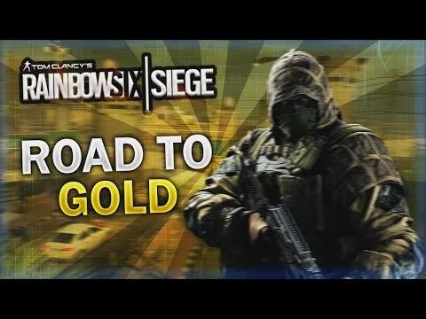 ROAD TO GOLD - Rainbow Six Siege (German/Deutsch)