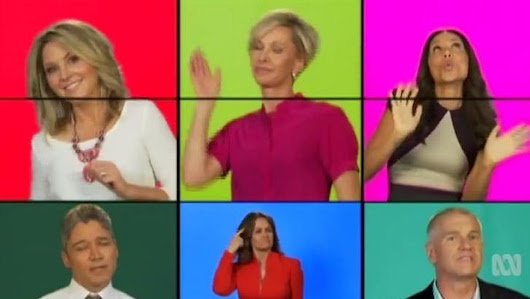 Carrie Bickmore, David Koch star in ABC's Brady Bunch-style music video