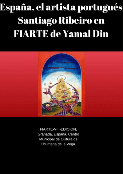 Spain, the Portuguese artist Santiago Ribeiro in FIARTE by Yamal Din - iCrowdNewswire