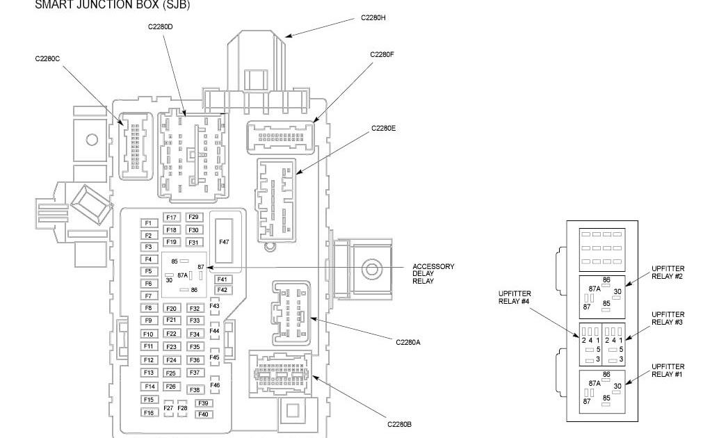 2001 Ford F 450 Super Duty Fuse Box Diagram
