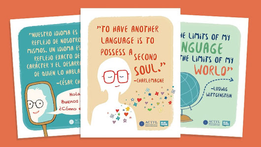 3 FREE Printable World Language Posters to Inspire Your Students