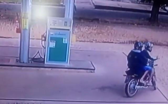 Cliente é sequestrada durante assalto em posto de combustível no interior do Piauí