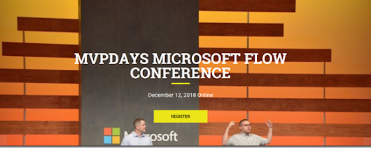 Microsoft Flow Virtual Conference