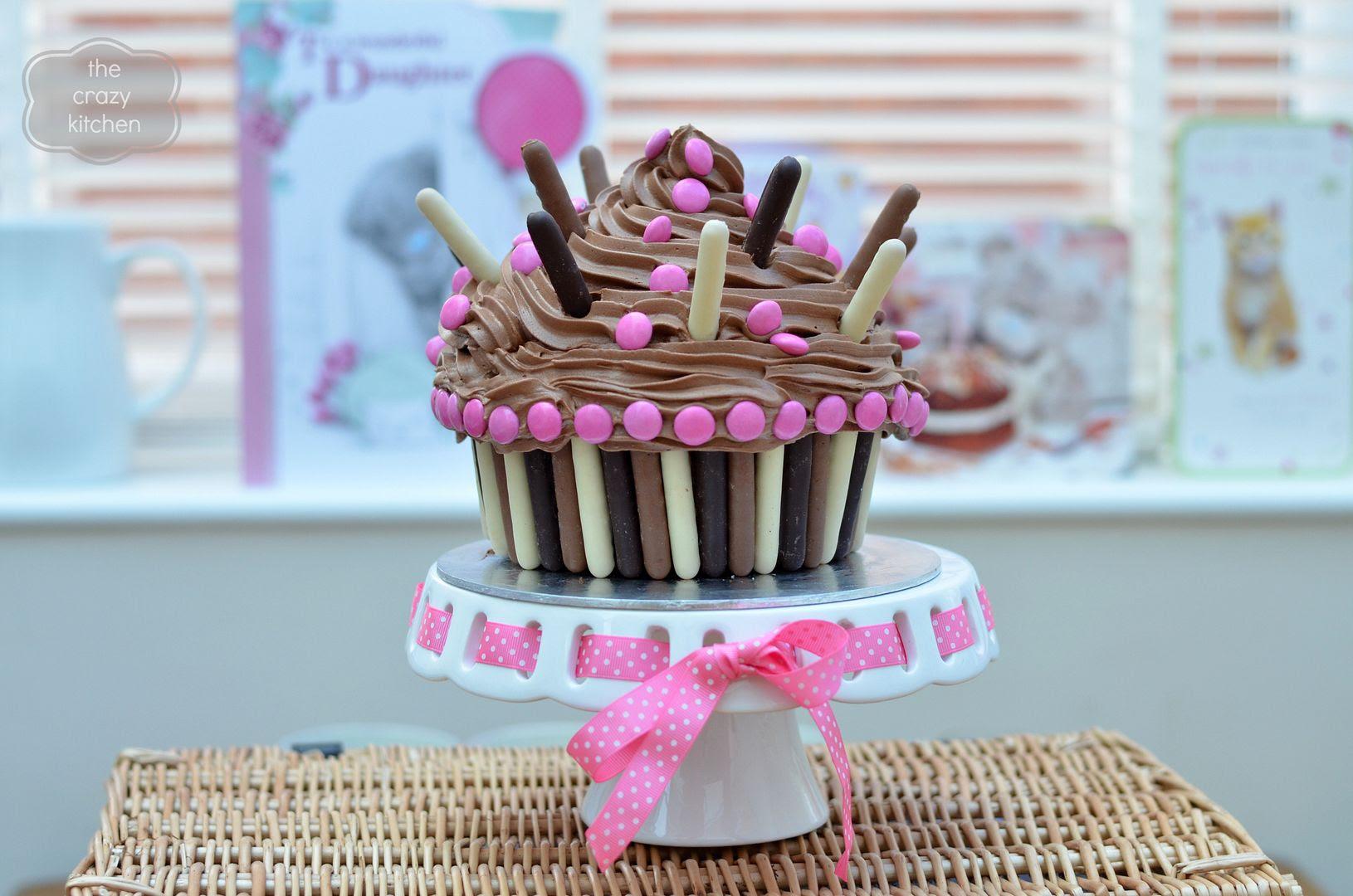 giant pinata cupcake