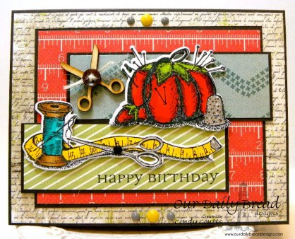 DSCN4718, Our Daily Bread Designs, All Occasion Sentiments, Pincushion, Spool and Tape