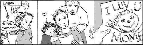 Home Spun comic strip #128
