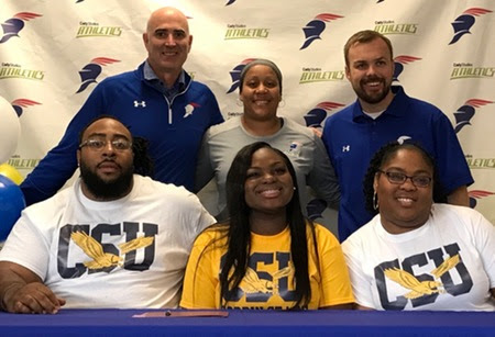 Lang to Play Volleyball at Coppin State