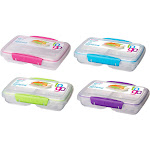 Sistema Split To Go Storage Containers, Assorted, 11.8 oz - 1 pack