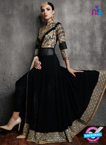 RT 18259 Black Indo Western Suit